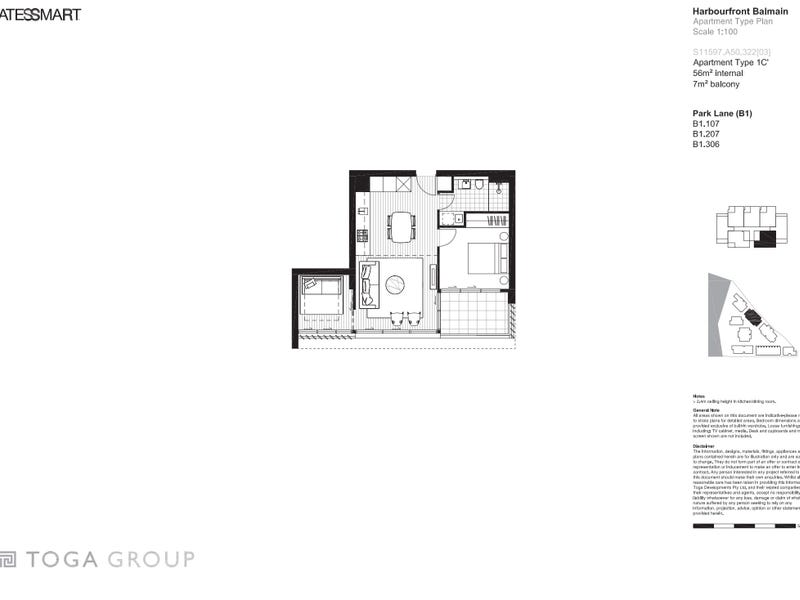 306/110 Elliot St, Balmain, NSW 2041 - floorplan