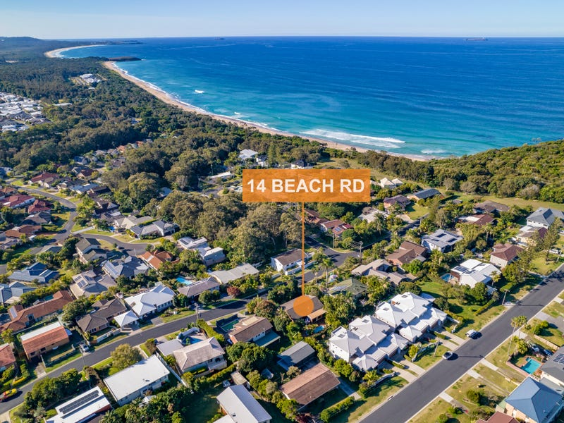 14 Beach Road, Sapphire Beach, NSW 2450
