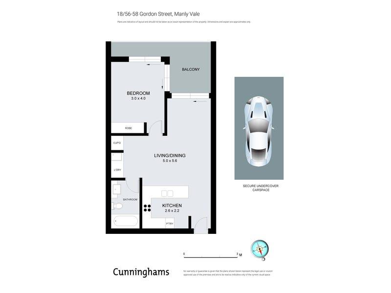 18/56-58 Gordon Street, Manly Vale, NSW 2093 - floorplan