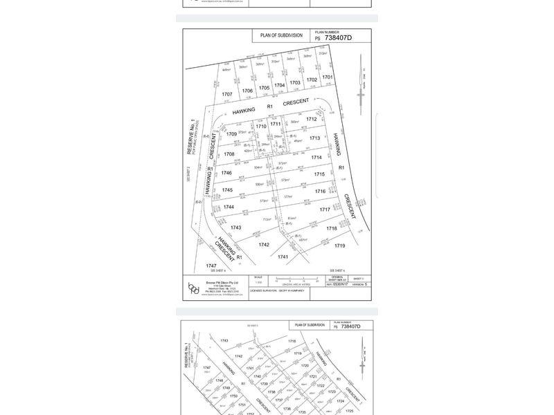 Lot 1745, Hawking Crescent, Plumpton, Vic 3335