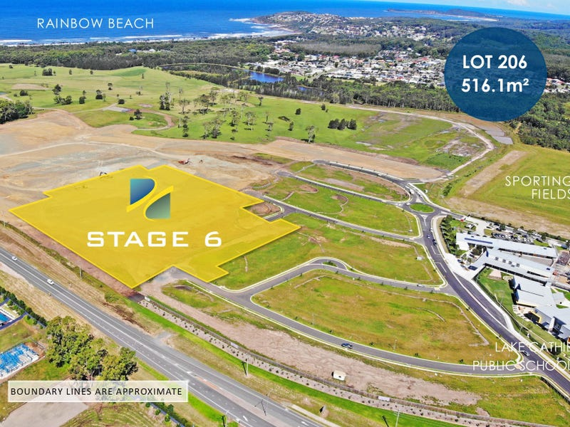 Lot 206 - Rainbow Beach Estate, Lake Cathie, NSW 2445