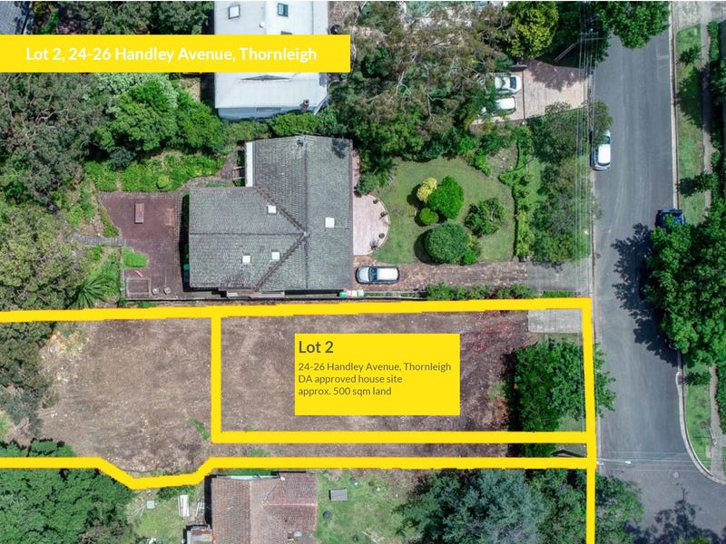 Lot 2, 24 & 26 Handley Avenue, Thornleigh, NSW 2120