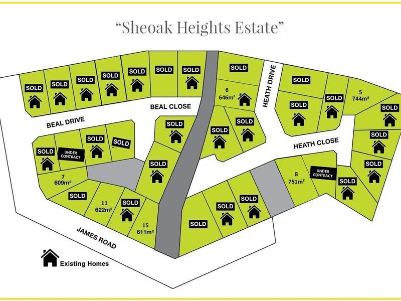 "6 Blocks Available ""Sheoak Heights Estate"", Clare, SA 5453"
