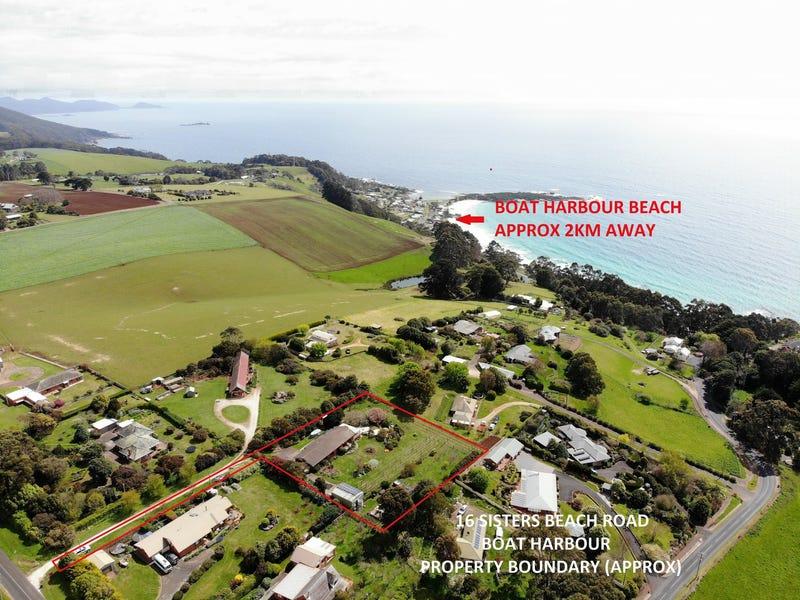 16 Sisters Beach Road, Boat Harbour, Tas 7321