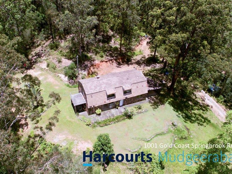 1001 Gold Coast Springbrook Road, Mudgeeraba, Qld 4213
