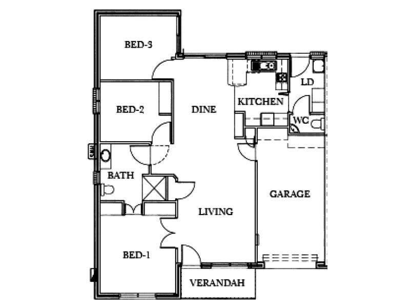 61/30a Norfolk Road, Marion, SA 5043 - floorplan