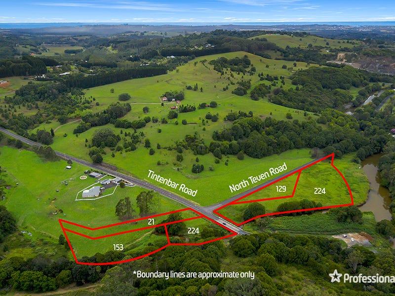 Lot 21, Lot 129, Lot 153 & Lot 224 North Teven Road, Teven, NSW 2478