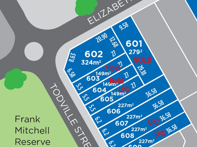 Lot 606, Todville Street, 'The Square', Woodville West