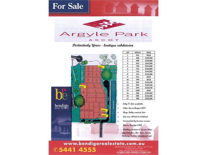 Lots 1-17 Argyle Park, Ascot