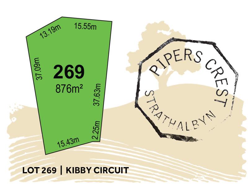 Lot 269, Kibby Circuit, Strathalbyn, SA 5255