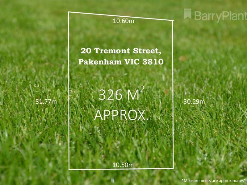 20 Tremont Street, Pakenham, Vic 3810