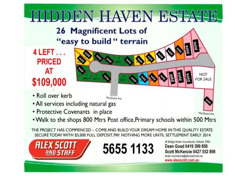 Lots 1 to 24 HIDDEN HAVEN ESTATE, Korumburra, Vic 3950