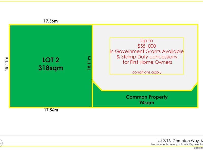 Prop Lot 2, 18 COMPTON WAY, Morley, WA 6062