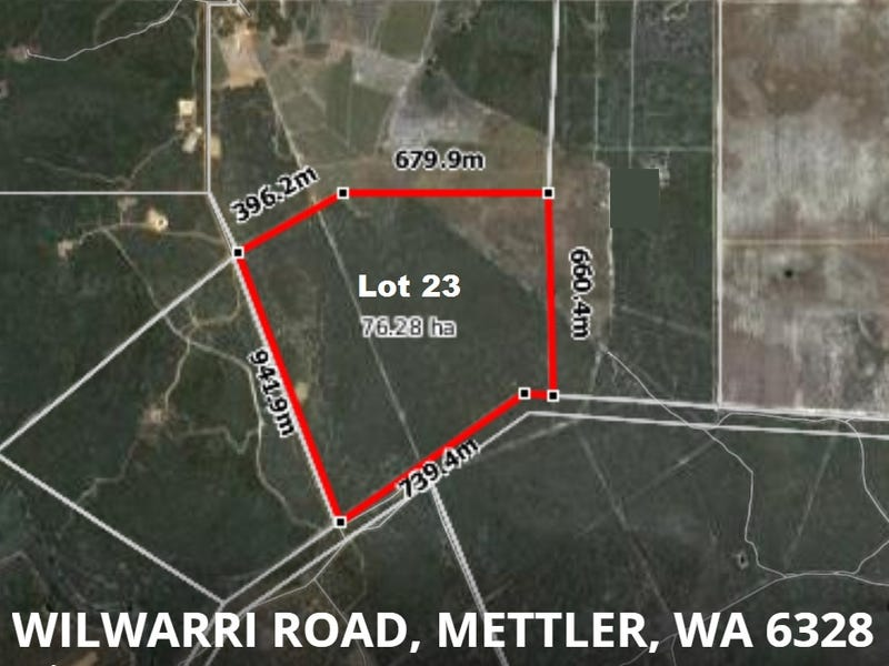 Lot 23 Wilwarri Road, Mettler, WA 6328