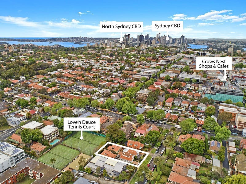 3, 3A, 5 & 5A Wheatleigh Street, Crows Nest, NSW 2065