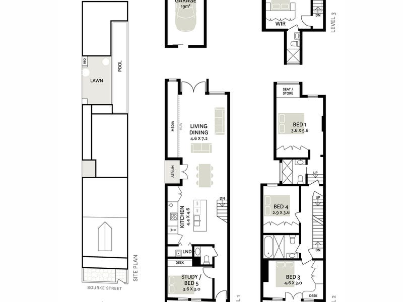 584 Bourke Street, Surry Hills, NSW 2010 - floorplan