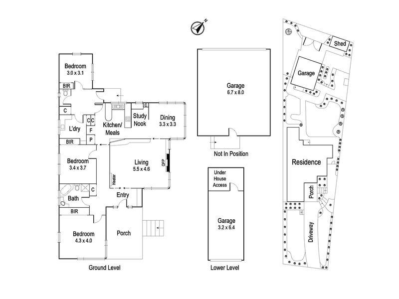 81 Locksley Road, Ivanhoe, Vic 3079 - floorplan