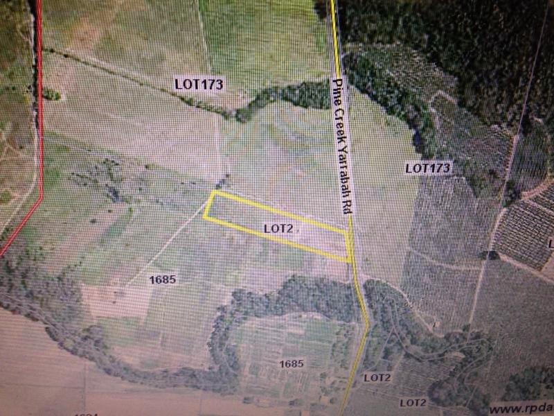 Lot Pine Creek - Yarrabah Road, Glen Boughton, Qld 4871