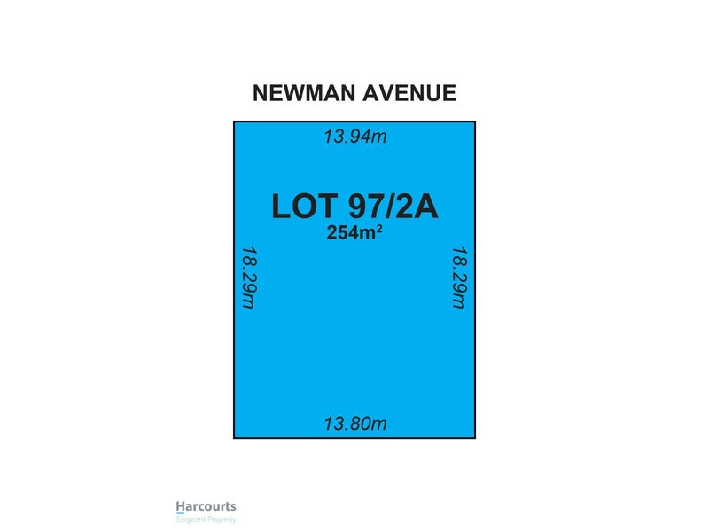 Lot 97, 2a Newman Avenue, Tea Tree Gully, SA 5091