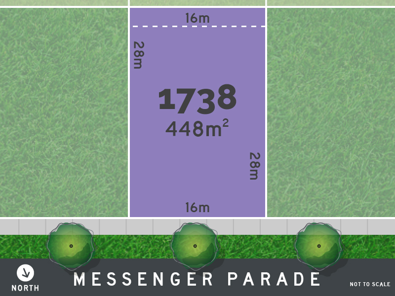 Lot 1738, Messenger Parade, Lucas, Vic 3350