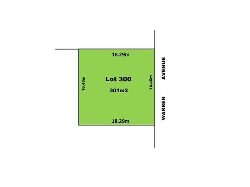 Lot 300 Warren Avenue, Blair Athol, SA 5084