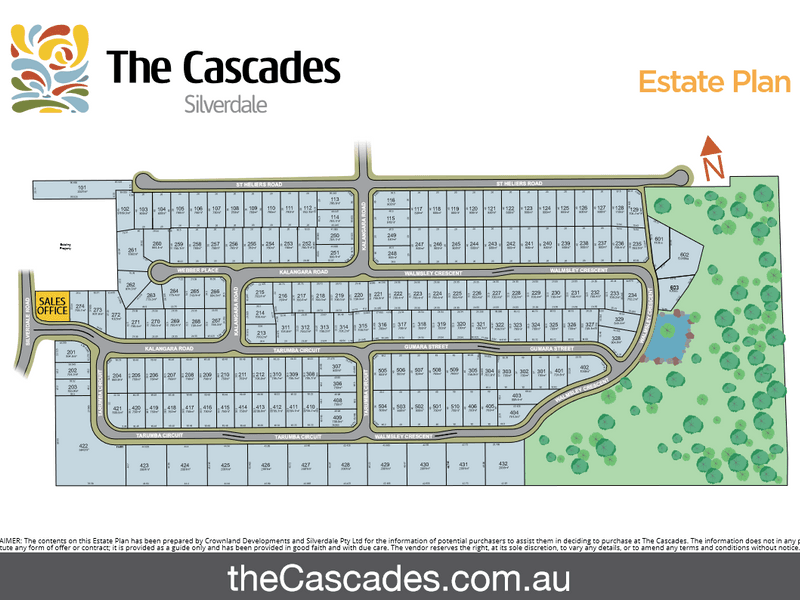 . The Cascades Estate, Silverdale