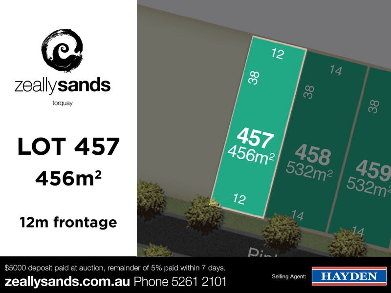 Lot 457 Zeally Sands  Estate, Torquay, Vic 3228
