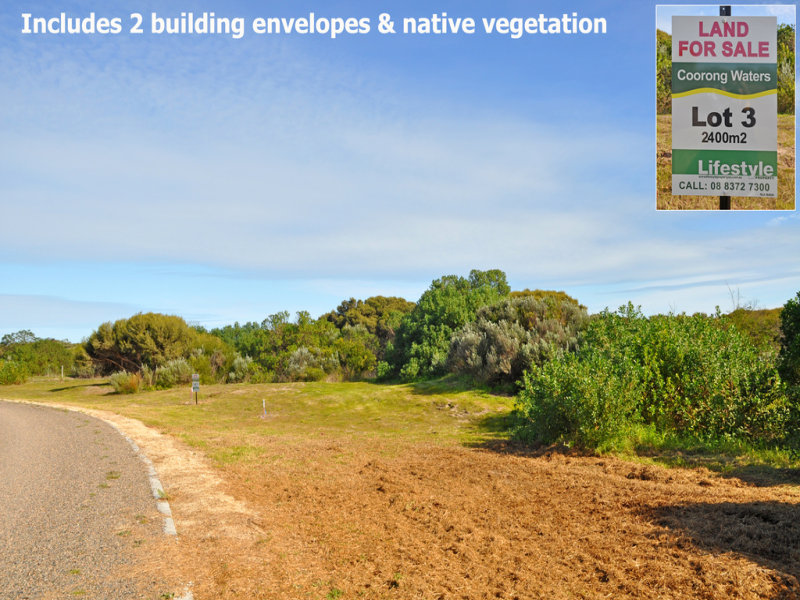 Lot 3, Coorong Waters Drive, Coorong, SA 5264