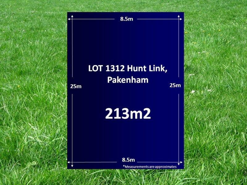 Lot 1312, Hunt Link, Pakenham, Vic 3810