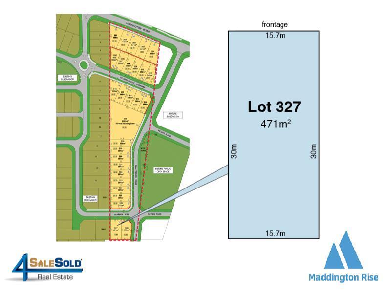 Lot 327  Mannikin Way, Maddington, WA 6109