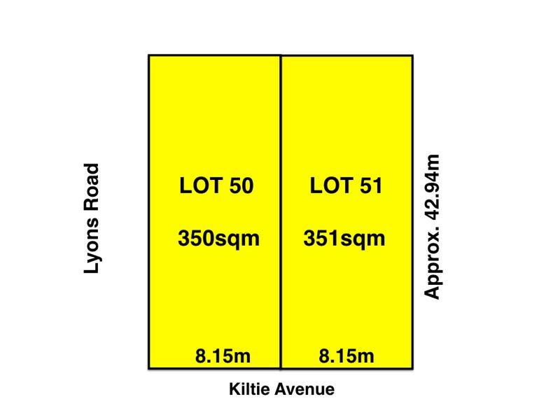 Lot 50 & 51, 8 Kiltie Avenue, Windsor Gardens, SA 5087