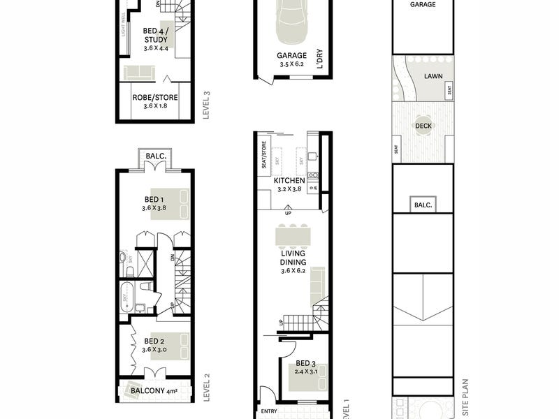15 Bridge Road, Glebe, NSW 2037 - floorplan