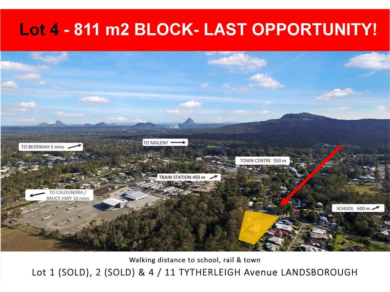 Lot 4, 11 Tytherleigh Avenue, Landsborough, Qld 4550