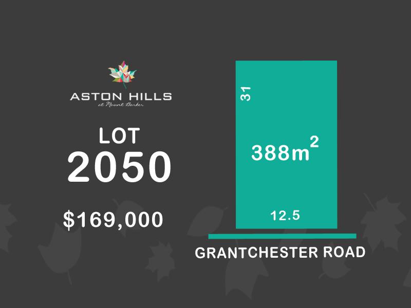 Lot 2050, Grantchester Avenue (Aston Hills), Mount Barker, SA 5251