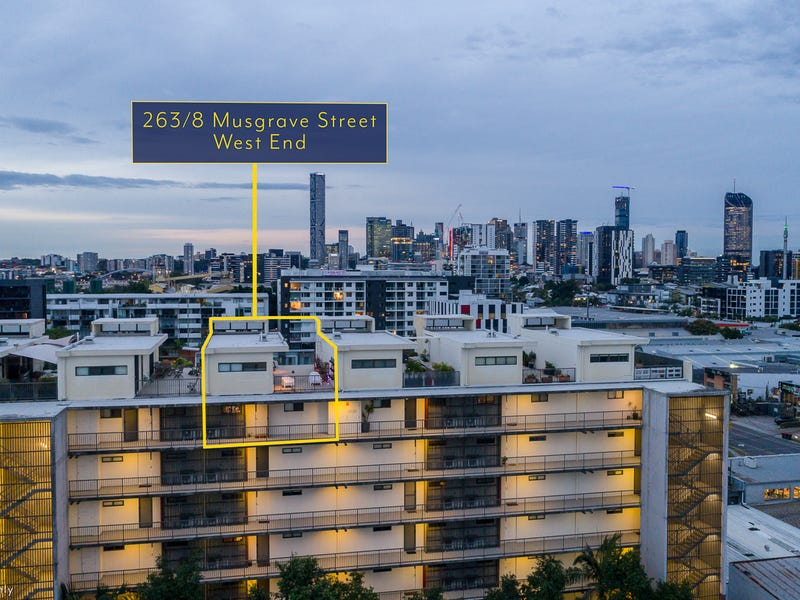 263/8 Musgrave Street, West End, Qld 4101