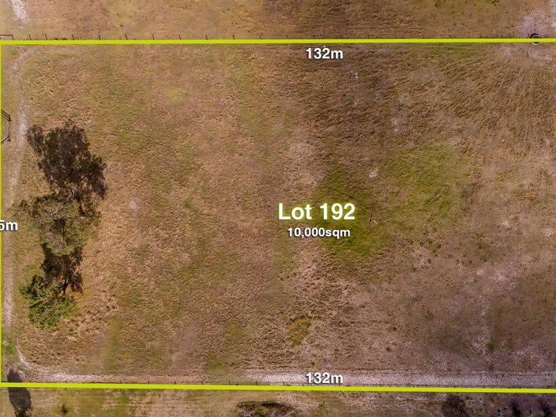 Lot 192, Curtis Lane, West Pinjarra, WA 6208