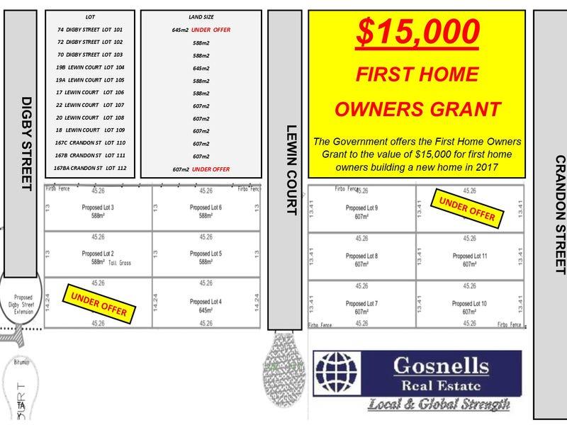 Lot 101, 74 Digby Street, Gosnells, WA 6110