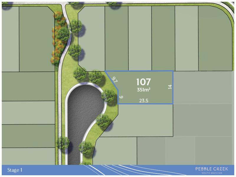 Lot 107, 230 Mountain Ridge Road, South Maclean, Qld 4280