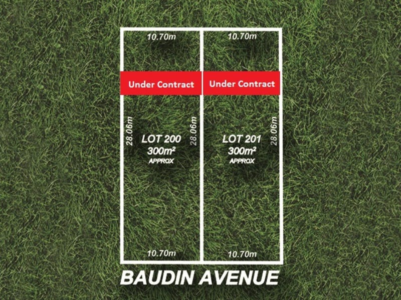 Lot 200 Baudin Avenue, Fairview Park, SA 5126
