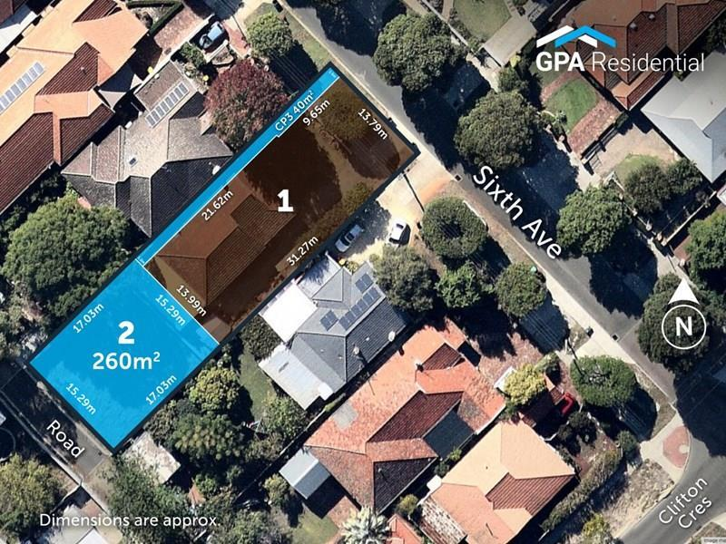 Lot 2, 187A  Sixth Avenue, Inglewood, WA 6052