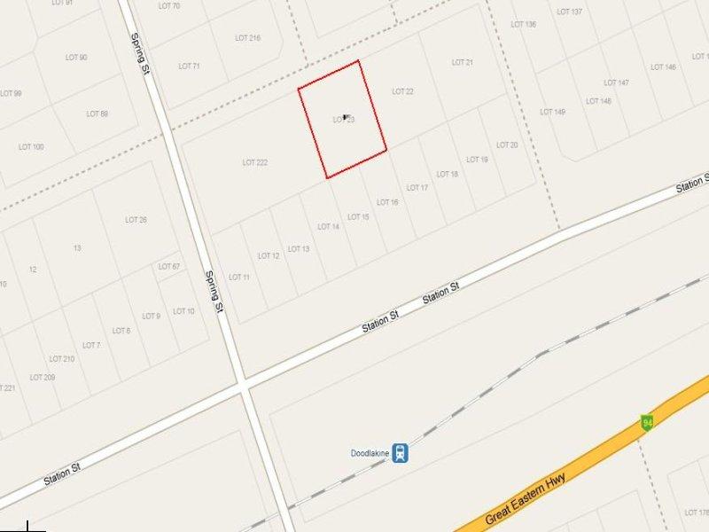 23 LEAKE STREET, Doodlakine, WA 6411