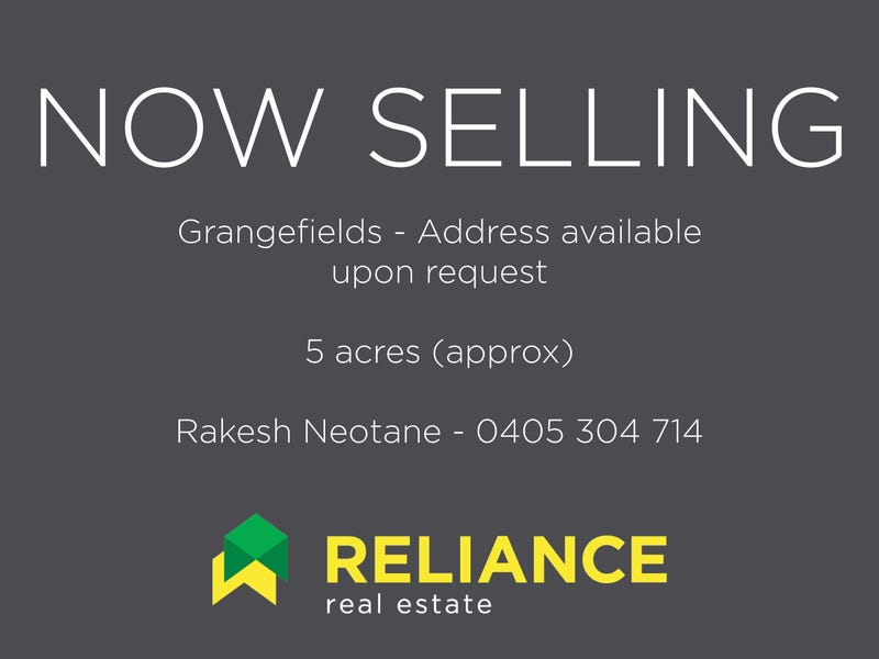 Address available on request, Grangefields, Vic 3335