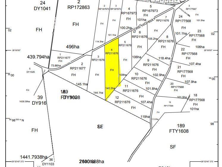 4, 11853 Goondiwindi Millmerrian Road, Wattle Ridge, Qld 4357