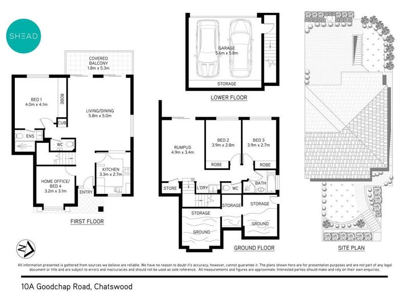 10A Goodchap Road, Chatswood, NSW 2067 - floorplan