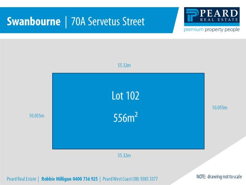 Lot 102, 70A Servetus Street, Swanbourne, WA 6010