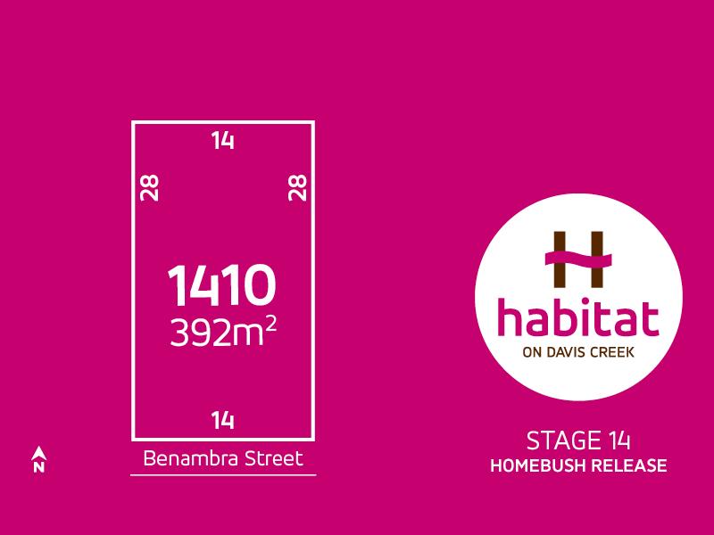 Lot 1410, Benambra Street, Tarneit, Vic 3029