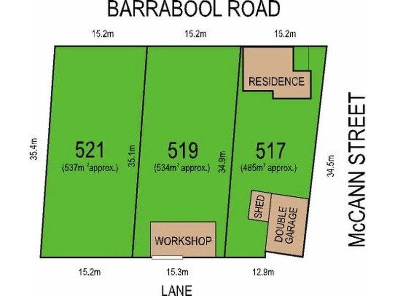 519 & 521 Barrabool Road, Ceres, Vic 3221