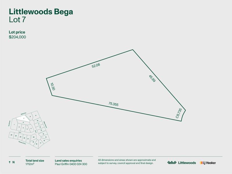 Lot 7 Littlewoods Estate, Bega, NSW 2550
