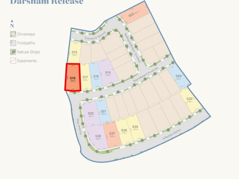Lot 516, Darsham Crescent, Point Cook, Vic 3030