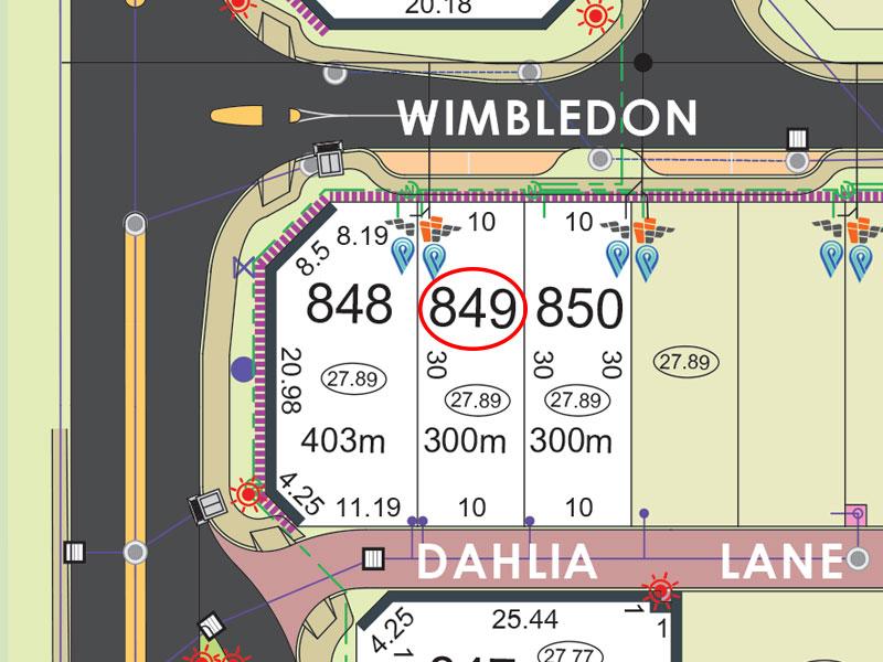Lot 849, Wimbledon Drive, Piara Waters, WA 6112